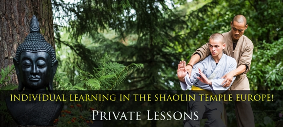 Private Lessons Shaolin Temple Europe